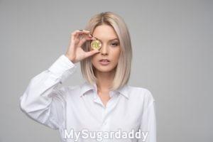 sugar baby holding bitcoin allowance