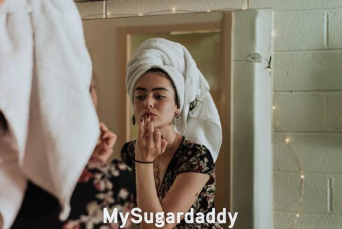 Sugar Baby Beauty Routine