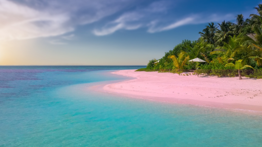 Pink Sands Beach also considered to be one of the most beautiful beaches of the world