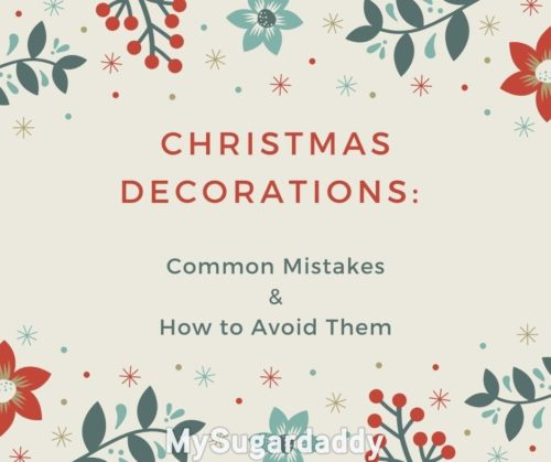 banner that reads christmas decorations: common mistakes and how to avoid them